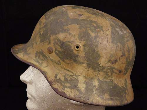 I'd like opinions on this M40 Camo Helmet...