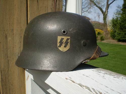 Your opinions on this SS M40 helmet?