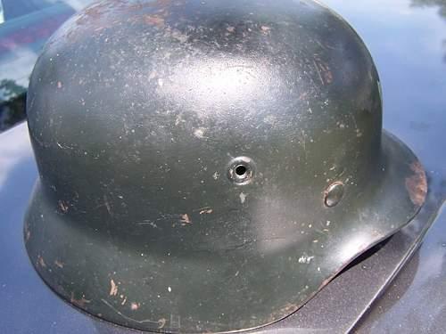 M40 helmet - repaint?