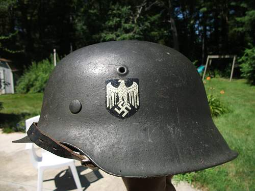 Need opinions on this Heer M42 helmet