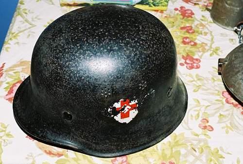 Red cross helmet #2