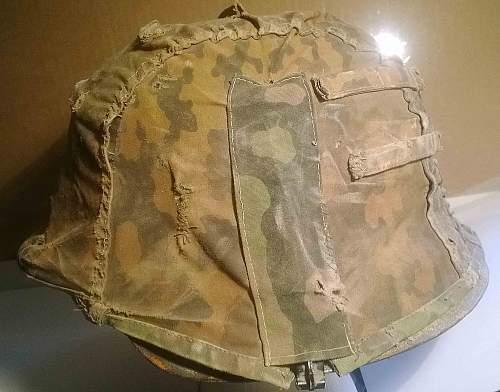 camo cover and camo helmet- Opinions