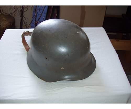 Unknown M35 Helmet