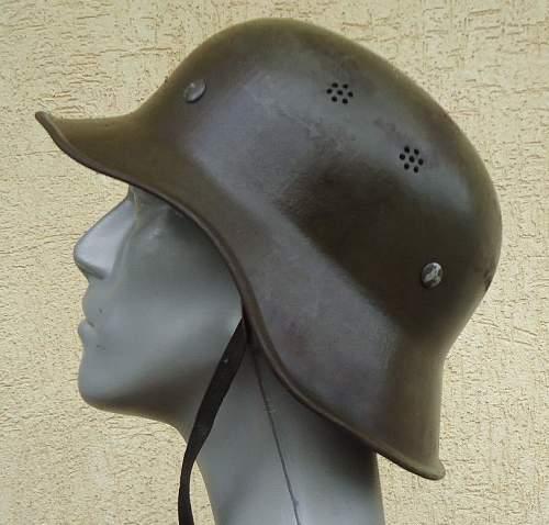 Bulgarian M44 German Helmet