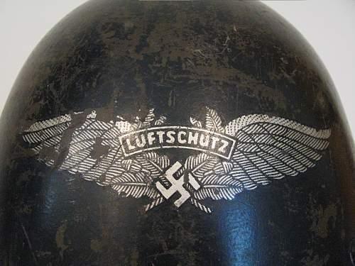 CZ VZ 32 - Reissued to the Luftschutz