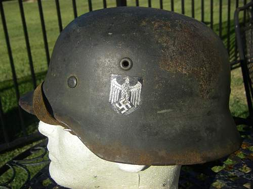 Heer M40 Double Decal Helmet. Your opinions please.