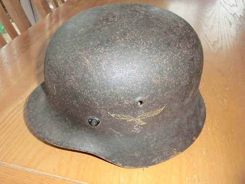 Luftwaffe helmet, fake or not?