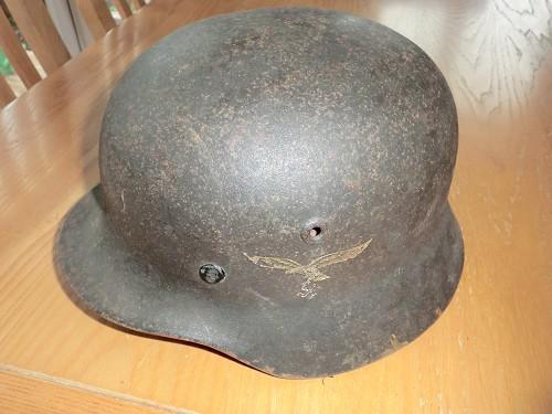Luftwaffe helmet, fake or not?