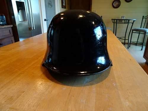 M34 Police helmet?