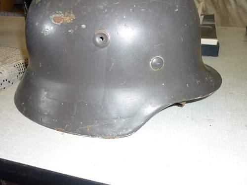 Fake helmet?