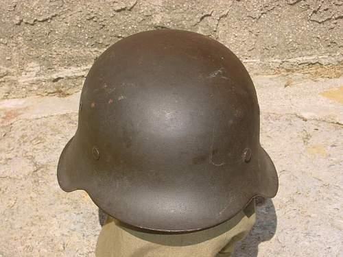 German K.I.A helmet