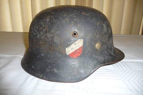 Please help with this M35 Double Decal. Luft helmet