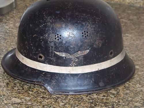 M34 Luftwaffe Crash Crew Helmet