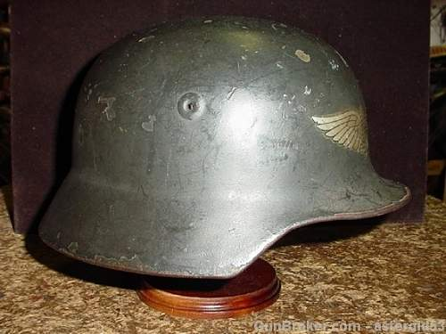 I believe this to be a post war german border helmet