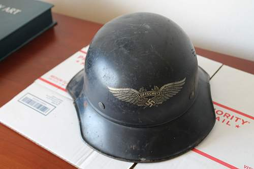 """luftschutz """"gladiator"""" helmer Please help to ID"""