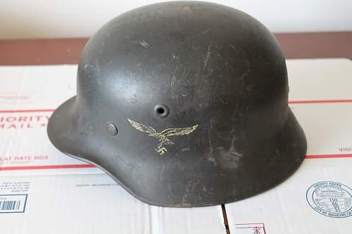 Luftwaffe  Helmet -  Please help to ID