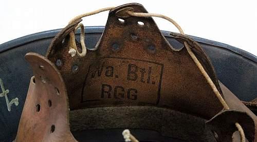 Luftwaffe Wa. Btl. RGG 1916 Helmet