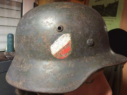 wehrmacht helm double decal