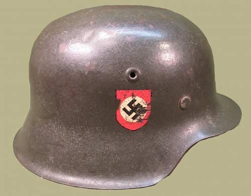M42 Combat Police Helmet Size CKL66