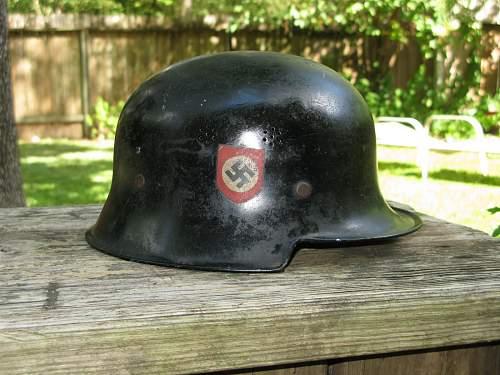 Fire/Police Helmet
