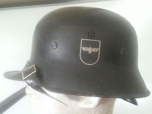 WWII German Railway Helmet???