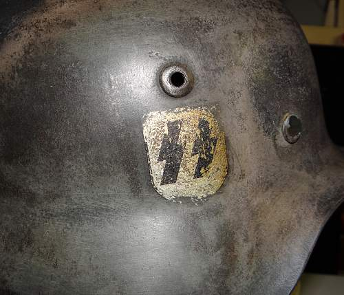 Ss helmet - authentic???  Probably not but would like opinions