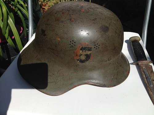 NSDAP / Political Leader helmet