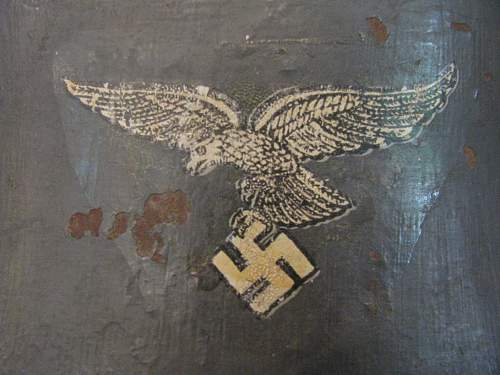 M16 Double Decal Luftwaffe Transitional - Early Straight Leg Droop Tail Adler