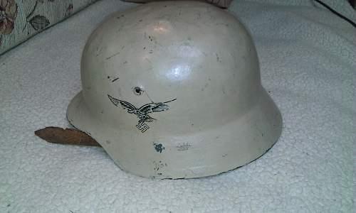 Help identifying German helmet