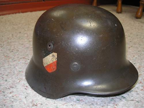 M-35 Double Decal Luftwaffe Helmet - My First Purchase