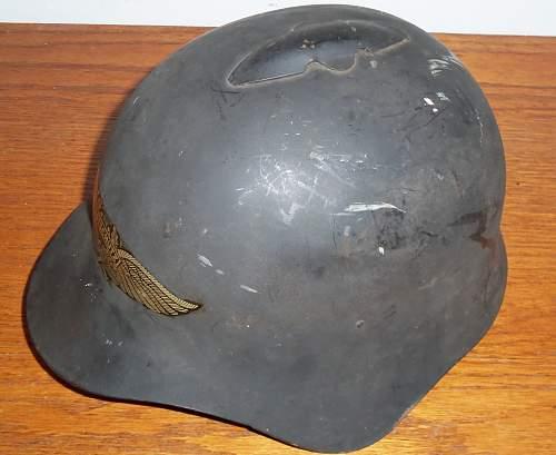 SSCH-36 Luftschutz Helmet, Real or Fake?