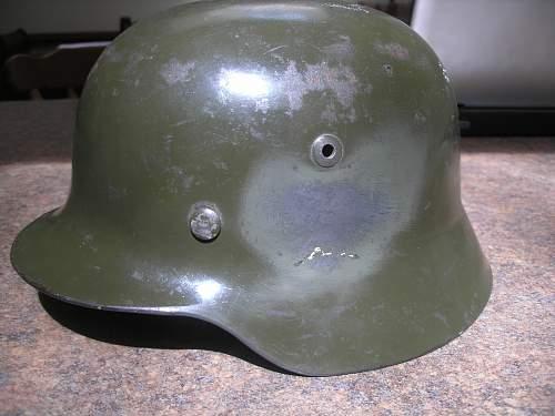 Comparing M 35 Helmets