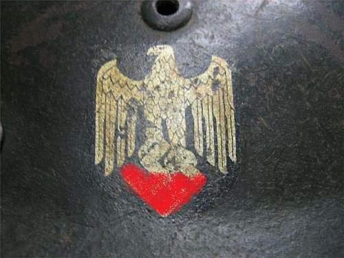 WW2 - M35 Wehrmacht Helmet - Real?