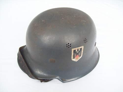 For those interested in a DRK ( German Red Cross helmet ) helmet