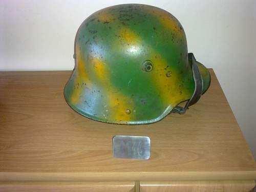 M16 stamped g62 - is this genuine helmet?