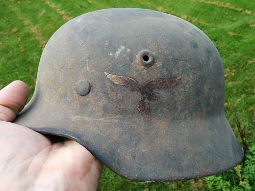 Luftwaffe helmet opinion