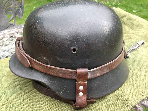 Re issued luftwaffe helmet