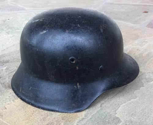 Vet Pick Up M42 Kriegsmarine Flak Helmet