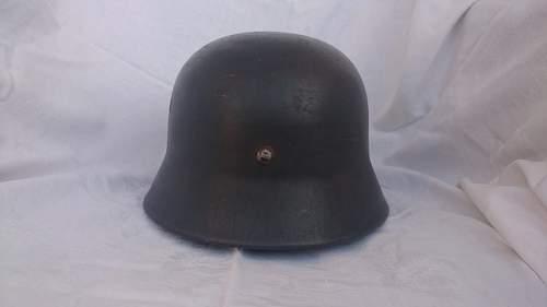 My first decent helmet