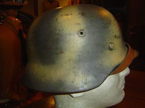 Camo Helmet From Normandy