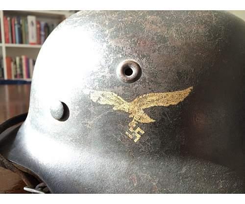 Luftwaffe helmet help / opinion :)