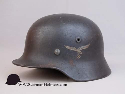 Click image for larger version.  Name:M1940-Luftwaffe-German-Helmet-2762-left.JPG Views:7 Size:147.8 KB ID:763579