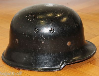 German m34 police helmet ww2 or post war