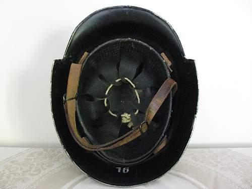 M34 Civic Police Helmet - Austrian Police Decal