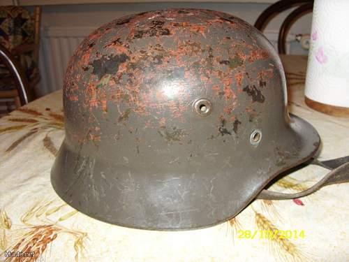 German helmet?