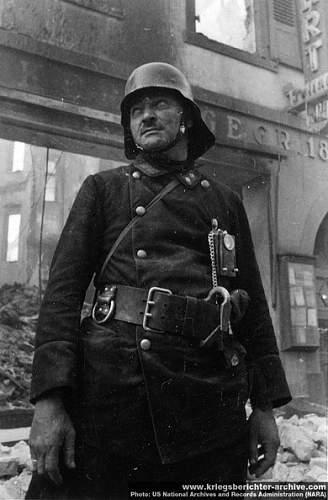 M34 Polizei helmet