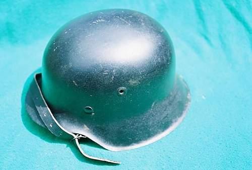 m-42 helmet with civil style liner