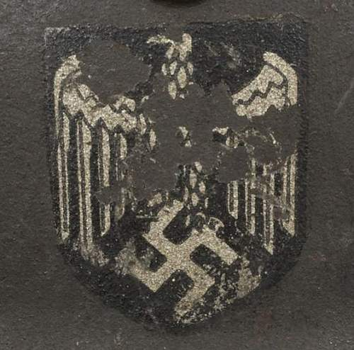 1940 Heer Helmet addtion
