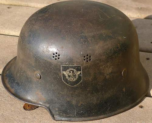 Opinions on this police helmet