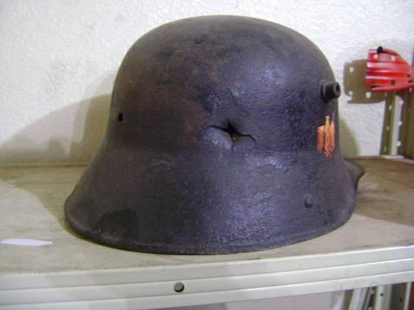Ww1 German Helmet Markings